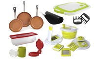 Kitchen Cookware Combo Set 22-Piece