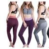Women Comfort Elastic Waist Sport Yoga Pant Workout Running Leggings