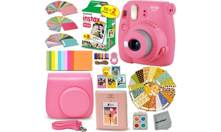 FujiFilm Instax Mini 9 Instant Camera and 20 Film and more *NEW* Was: $169.96 Now: $99.47