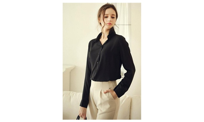 Women Collar Neck Formal Wear Shirt & Blouse - JPWSB793-JPWSB794-795