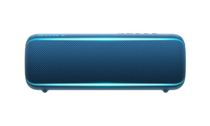 Sony Srs Xb22 Extra Bass Portable Bluetooth Speaker Blue Bundle Groupon