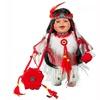 "Cherish Crafts 12"" Porcelain Native American Doll 'Ayita'"