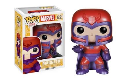 Funko Pop Marvel Magneto Metallic Exclusive Vinyl Figure a69f4604-ff07-4bfa-8f69-553efb675c00