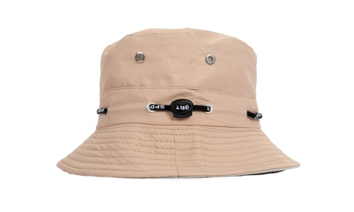 Unisex Cotton Fishing Hunting Summer Bucket Cap Hat
