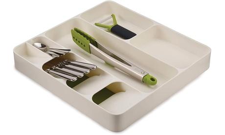 Joseph Joseph Kitchen Drawer Organizer Tray for Cutlery Utensils and Gadgets