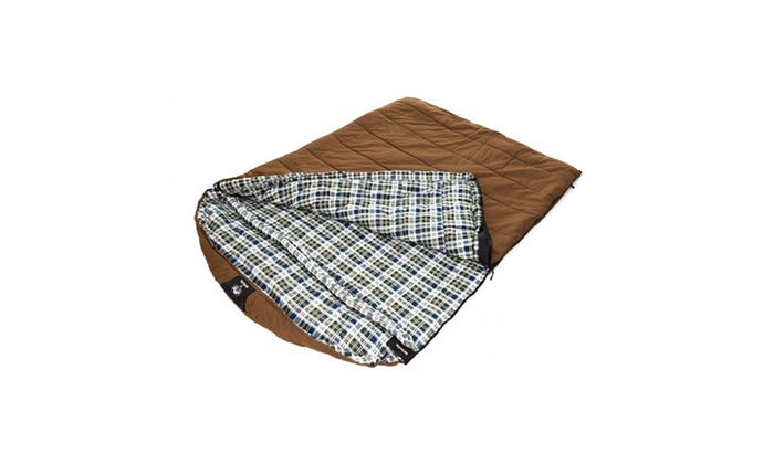 Grizzly Private Label 2 Person 25 Degree Canvas Sleeping Bag