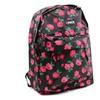 Funky Flowers Cheetah Hearts Chevron Fashion Canvas School Backpack