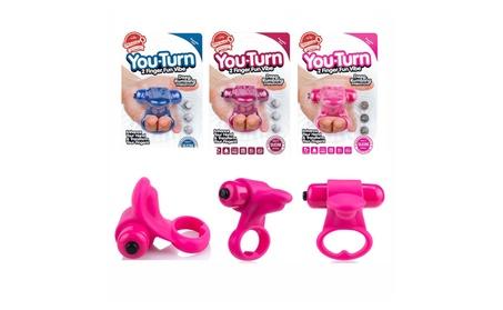 Screaming O You-Turn Two-Finger Fun Vibe C-Ring 6e994e17-d89b-4a79-985e-6feaf418fe33