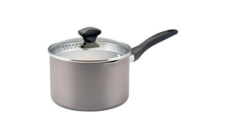 Farberware 21402 3qt Cov Straining Saucepan with Pour Spouts photo