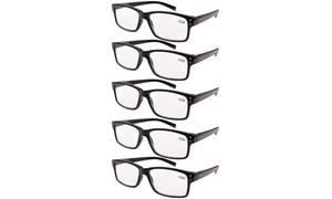 a7f1aa2520a5 Eyekepper Reading Glasses 5-pack Vintage Classic Readers Women Men