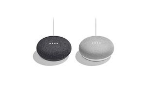 Google Home Mini Speaker (2-Pack)