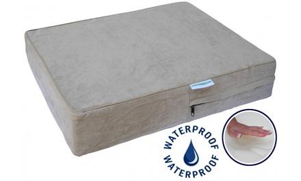 GoPetClub Memory Foam Orthopedic Dog Bed with Waterproof Cover
