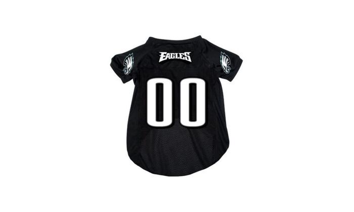 super popular abef4 ef595 Philadelphia Eagles Pet Dog Mesh Football Jersey