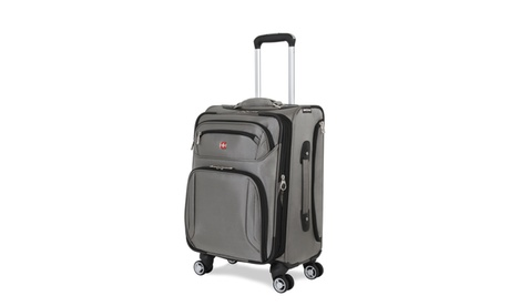 "SwissGear Expandable Softside Spinner Luggage (20"", 24"", or 28"") SA7895 da6e44a6-60c4-41cd-ac56-26d7e5afc5e6"