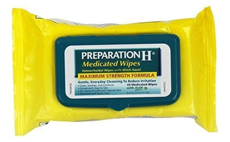 Preparation H Medicated Wipes 48 Ea (Pack Of 4) 8d209c9d-ad57-40e5-9179-85be56b6b053