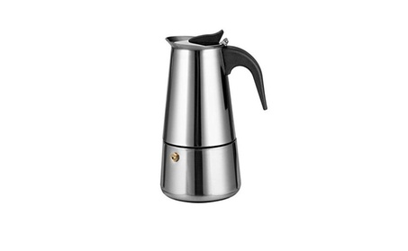 Stainless Steel Moka Espresso Coffee Maker Pot - 9 Cup 4c7f4698-9fcf-4360-a272-ebffd23f869d