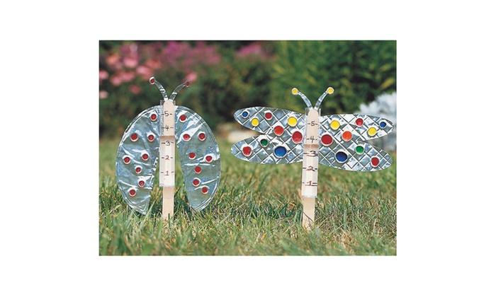 Garden Rain Gauge Craft Kit makes 36 Groupon