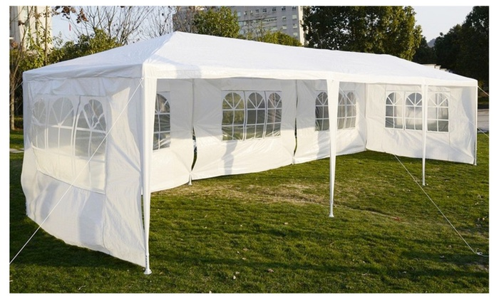 Wedding Party Tent Canopy White Awning Pavilion Durable