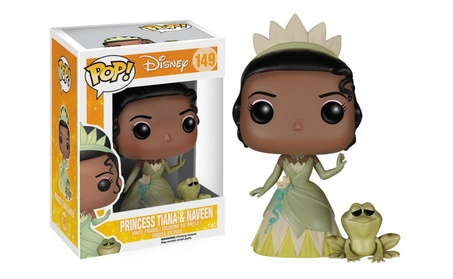 Funko POP Disney Princess Tiana and Naveen Vinyl Figure 4611a059-b592-4c9b-9d46-12a21ab8b7dd