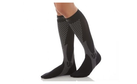 5 -Pack Unisex Compression Therapy Relief Medical Circulation Socks c282ddb4-e9c9-4884-8f79-7954c96ed414