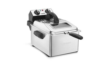Cuisinart CDF-200 Deep Fryer, 4 quart, Stainless Steel photo