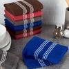 Lavish Home 100% Cotton Terry Kitchen Towel Set or Washcloth Set