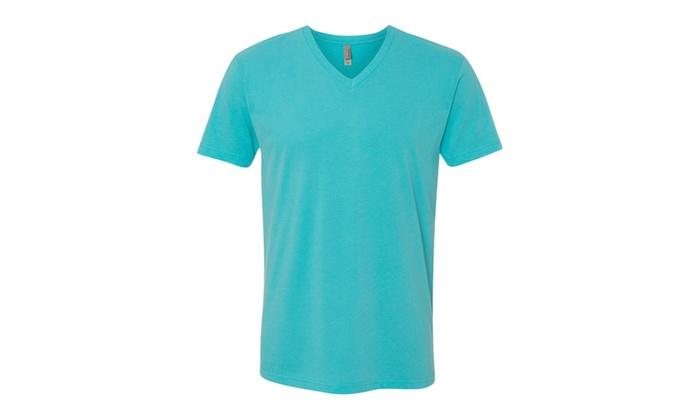 NLA Premium Sueded V-Neck T-Shirt, 6440-3
