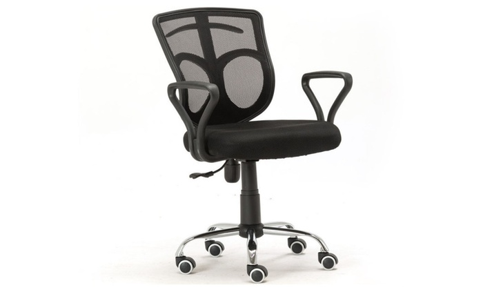 Ventilate Mesh Cloth Office Chair Computer Desk Midback Swivel Chair