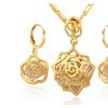 Cubic Zirconia Wedding Bridal Jewelry Set for Women