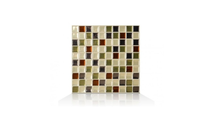 Self Adhesive Wall Tiles 1 Sheet Smart Sm1032 Idaho Mosaik