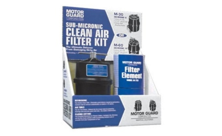 Motor Guard M45 0.2 5 in. Clean Air Filter Kit - M45 a3b1fb46-2233-4d93-9407-202cfb6544e5