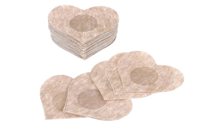 8fea248e4 10pcs Instant Breast Lift Bra Tape + Nipple Cover Pad Pasties