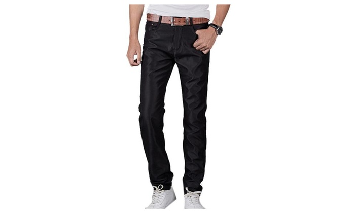 Men's Loose Fit Casual Straight Long Pants