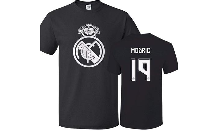 more photos 08963 1d01f Tcamp Real Madrid Shirt Luka Modric #19 Jersey Men T-shirt