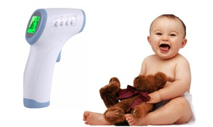 Baby/Adult Infrared Non-Contact Digital Forehead Thermometer