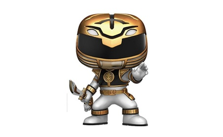 Funko POP Television: Power Rangers Action Figure, White 8014eefa-5337-45fb-a79b-85360c0d8f4a