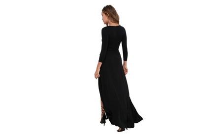 Women's Deep V Open Weave Crochet Knit Maxi Dress 85ec3d98-9f54-4452-a087-8c3881c1a32b