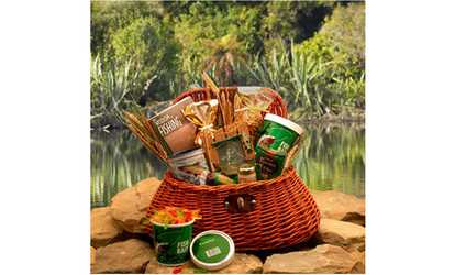 Candy sweets deals coupons groupon image placeholder image for the fishermans fishing creel gift basket large negle Choice Image