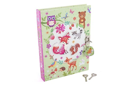 """Secret Diary with Lock - Kids 7"""" Scented Critter 300 Page Journal 825a9a50-c3de-4d3d-8e2c-c846bf207754"""