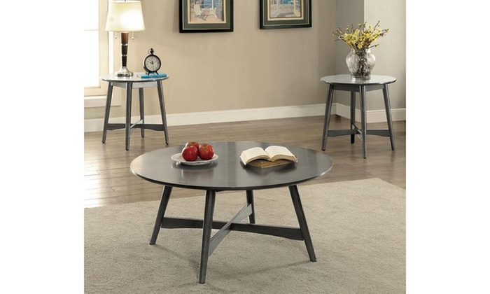 ... Groupon Goods: Furniture Of America Selena Mid Century Modern End Table,  ...