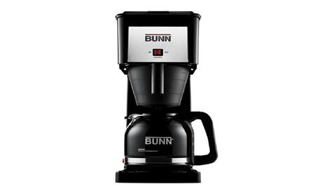 Bunn GRX-B Velocity Brew 10-cup Coffeemaker, Black be104845-16b5-4e64-a9b3-99bf54eee076