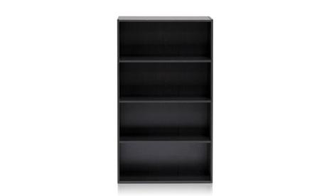Furinno 11209EX Pasir 4-Tier Open Shelf, Espresso 27fc6086-1c6b-430e-844e-0f4741ca10d6