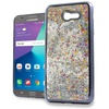 XL Samsung J7(2017) J727 Chrome Glitter Motion Case