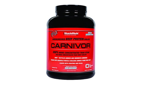 Musclemeds, Carnivor Bioengineered Beef Protein Isolate, 56 Servings b098a168-030e-4249-97dd-87094c11ff4d