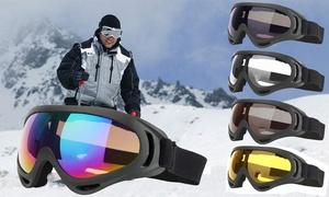 Ski Goggles Winter Snowboard Anti-fog Lens UV 400 Protective Motorcycle Goggles