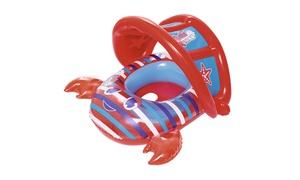 Bestway - Bestway - SWIM SAFE 34 Inch x 26 Inch Crab Baby Boat, Red