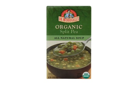 Dr. Mcdougall's Right Foods Soup, Organic Split Pea, 17.6 Ounce (Pack 3dabb0dc-800d-4bc5-8371-fb640f350f42