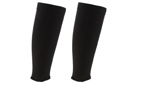 Men's And Women's Black Shin Support Compression sleeve For Sports 197e6a91-a86b-434f-8abe-bab12021fd64