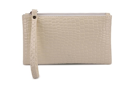 PU Leather Clutch Handbag Cosmetic Purse For Woman (Goods Women's Fashion Accessories Wallets) photo