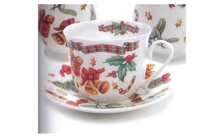 Roy Kirkham Breakfast Cup/saucer - X'mas Gift Set Of 2 618f766a-a41c-4485-87ca-ddf4d21b2368